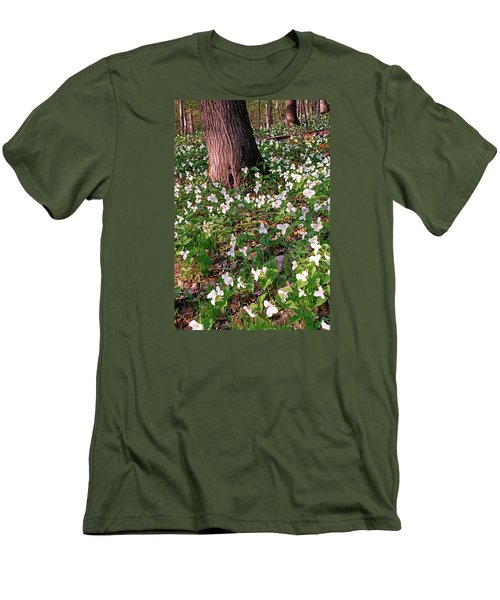Trillium Woods No. 1 Men's T-Shirt (Athletic Fit)