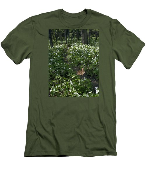 Trillium Woods No. 3 Men's T-Shirt (Athletic Fit)