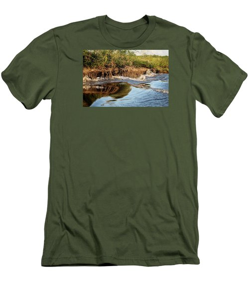 Trinidad Water Reflection Men's T-Shirt (Athletic Fit)