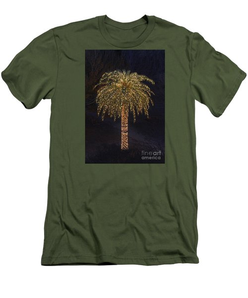 Tropical Christmas Men's T-Shirt (Athletic Fit)