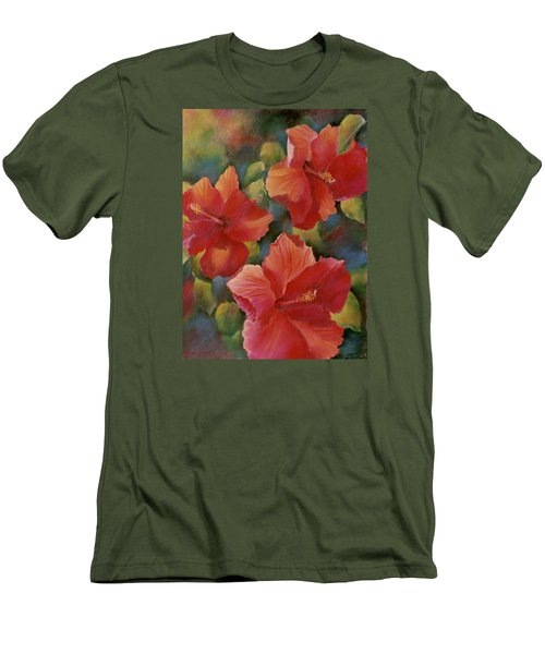 Tropical Punch Men's T-Shirt (Slim Fit) by Ann Peck