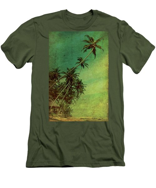 Tropical Vestige Men's T-Shirt (Athletic Fit)
