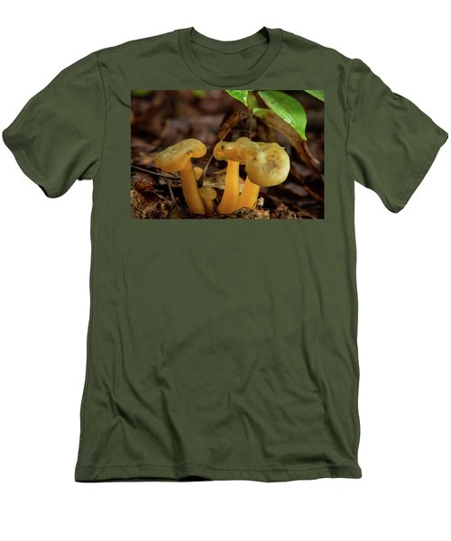 Trugid Glabrous Highlighted Mushroom Cluster Men's T-Shirt (Athletic Fit)