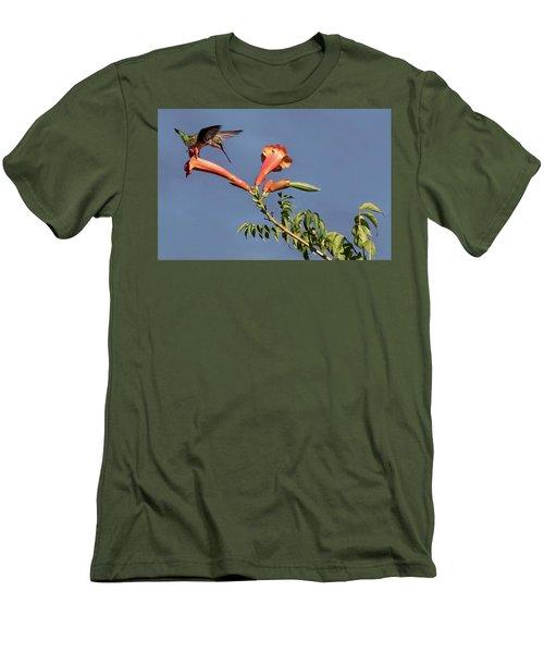 Trumpet Call Men's T-Shirt (Athletic Fit)