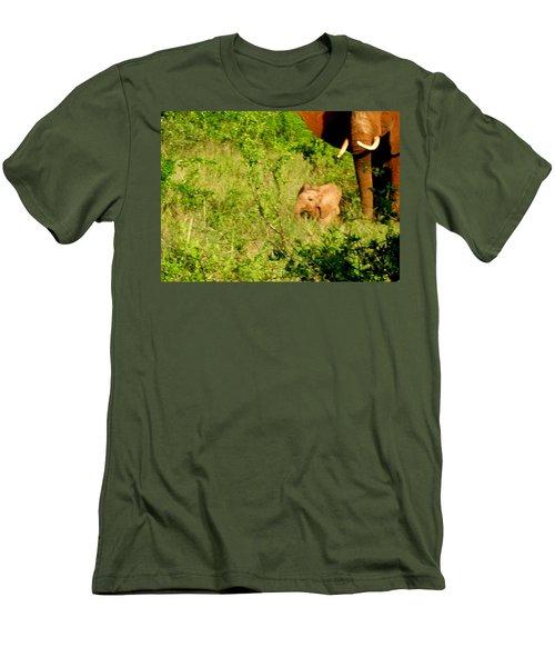 Tsavo Calf Men's T-Shirt (Athletic Fit)