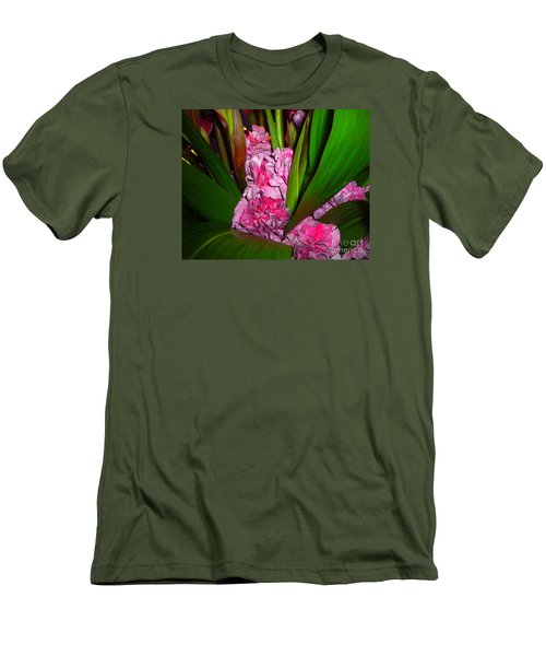 Men's T-Shirt (Slim Fit) featuring the photograph Tucked Away by Merton Allen