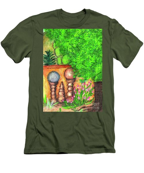 Tucson Garden Men's T-Shirt (Athletic Fit)