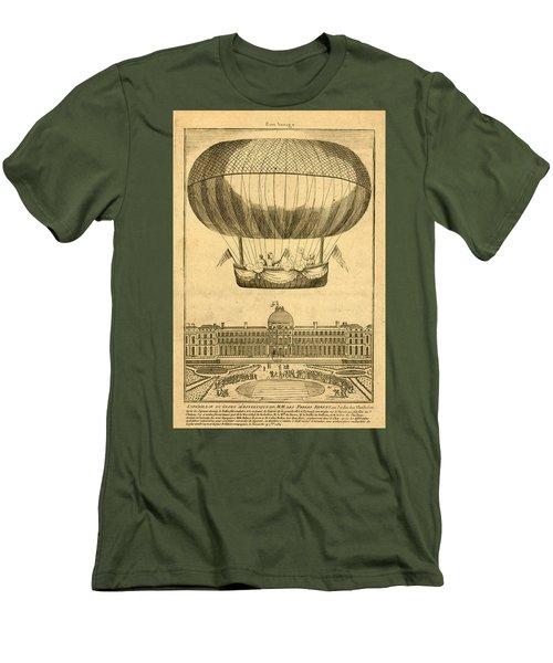 Tuileries Garden, Paris Men's T-Shirt (Athletic Fit)