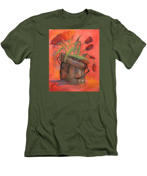 Tulip Bucket Men's T-Shirt (Athletic Fit)