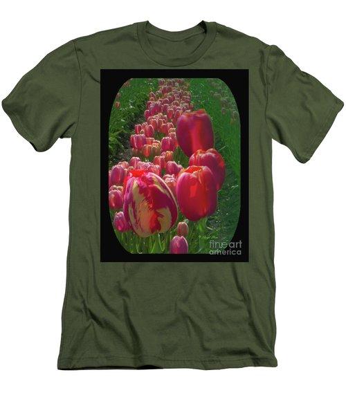 Tulip Row Men's T-Shirt (Athletic Fit)