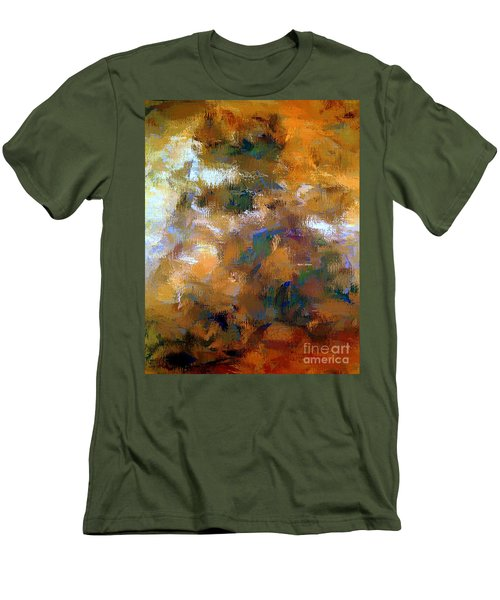 Men's T-Shirt (Athletic Fit) featuring the digital art Tumultuous Expectations by Rafael Salazar