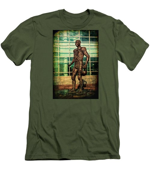 Men's T-Shirt (Slim Fit) featuring the photograph Tundra Titan by Trey Foerster