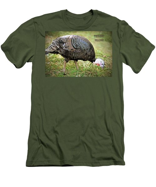 Men's T-Shirt (Slim Fit) featuring the photograph Turkey Season by Marion Johnson
