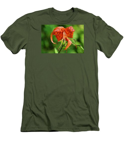 Men's T-Shirt (Slim Fit) featuring the photograph Turn Up The Heat by Michiale Schneider