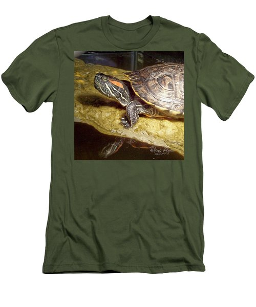 Turtle Reflections Men's T-Shirt (Athletic Fit)