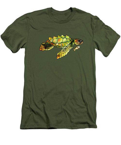 Turtle Talk Men's T-Shirt (Athletic Fit)