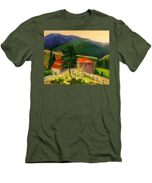 Tuscan Hills Men's T-Shirt (Athletic Fit)