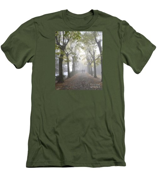 Tuscany Love Men's T-Shirt (Slim Fit) by Rebecca Margraf