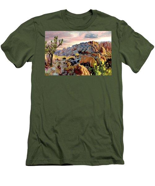Twilight At Joshua Men's T-Shirt (Athletic Fit)