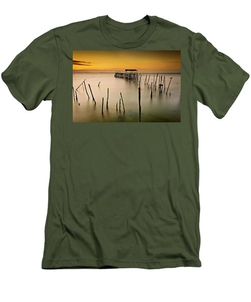 Men's T-Shirt (Slim Fit) featuring the photograph Twilight by Jorge Maia