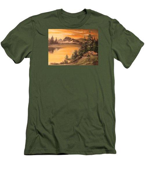 Twilight Men's T-Shirt (Slim Fit) by Remegio Onia