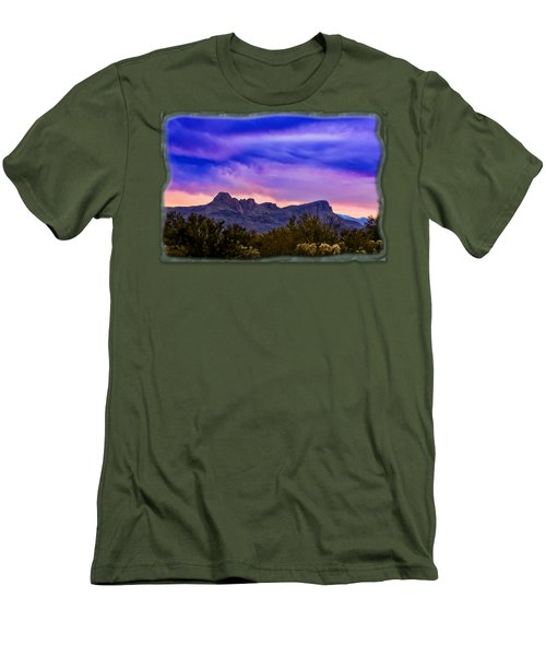 Twin Peaks H30 Men's T-Shirt (Slim Fit) by Mark Myhaver