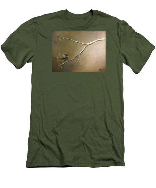 Two Birds On A Branch Men's T-Shirt (Athletic Fit)