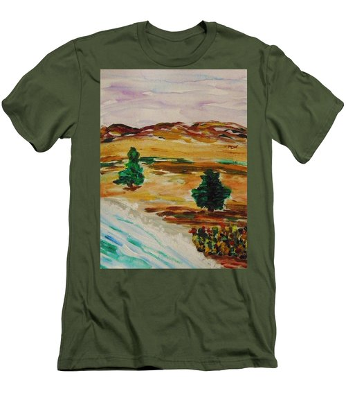 Two Cedars By The Sea Men's T-Shirt (Athletic Fit)