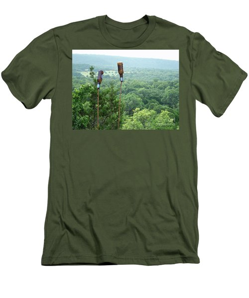 Men's T-Shirt (Slim Fit) featuring the photograph Two For The Road by Joe Jake Pratt
