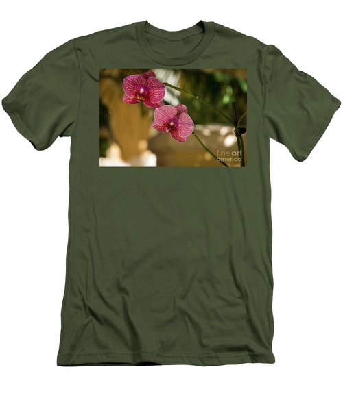 Two Friends Men's T-Shirt (Slim Fit) by Sandy Molinaro