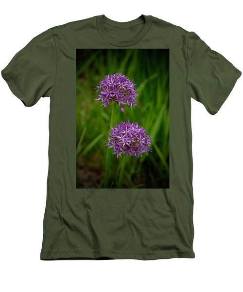 Two Globes Men's T-Shirt (Slim Fit) by Tim Good