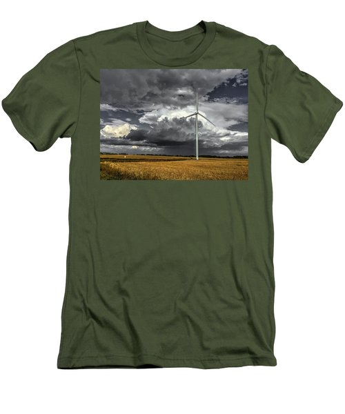 Two Tone Men's T-Shirt (Athletic Fit)