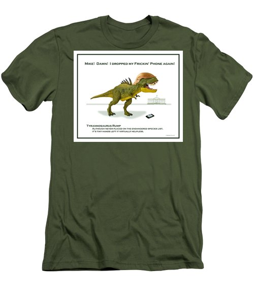 Tyrannosaurus Rump Men's T-Shirt (Athletic Fit)