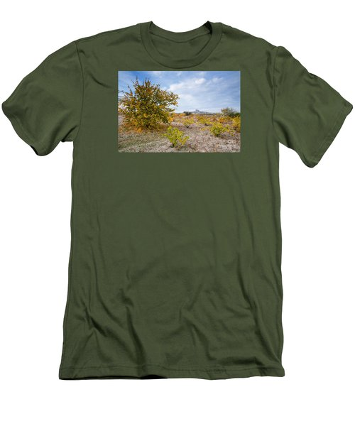 Men's T-Shirt (Slim Fit) featuring the photograph Uchisar by Yuri Santin