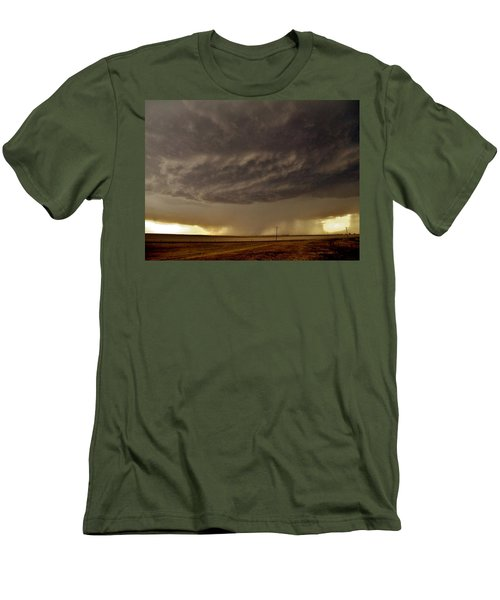 Men's T-Shirt (Athletic Fit) featuring the photograph Under The Mothership by Ed Sweeney
