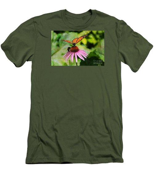 Under My Wing Men's T-Shirt (Slim Fit) by Yumi Johnson