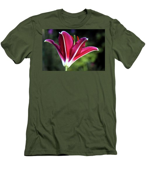 Underside Of Asiatic Tiger Lily 1653 H_2 Men's T-Shirt (Athletic Fit)