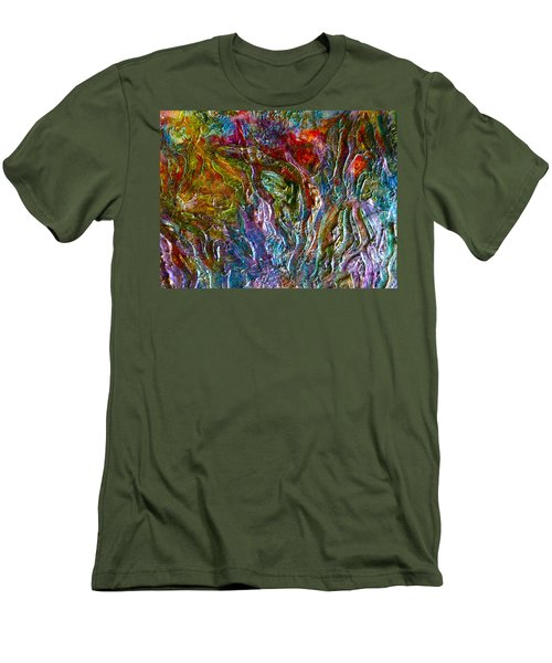 Underwater Seascape Men's T-Shirt (Athletic Fit)