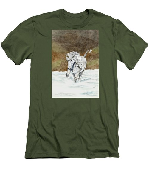 Unicorn Icelandic Men's T-Shirt (Athletic Fit)
