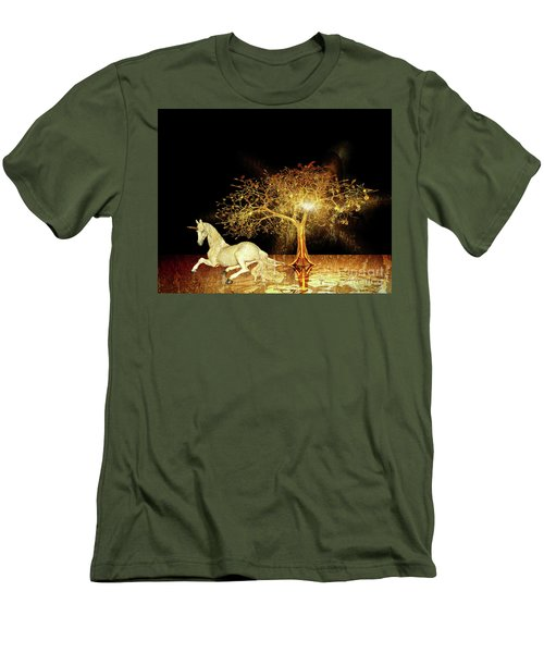 Unicorn Resting Series 1 Men's T-Shirt (Athletic Fit)