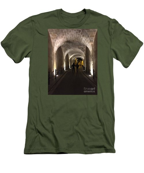 Unique Walkway Men's T-Shirt (Athletic Fit)