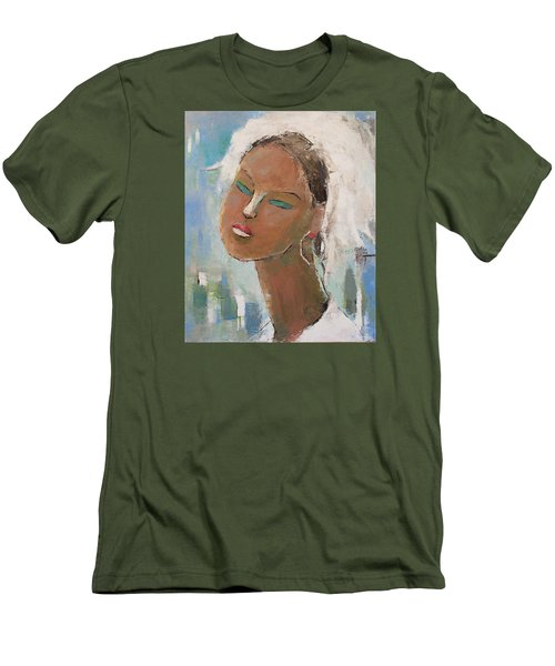 Unknown Men's T-Shirt (Slim Fit) by Becky Kim