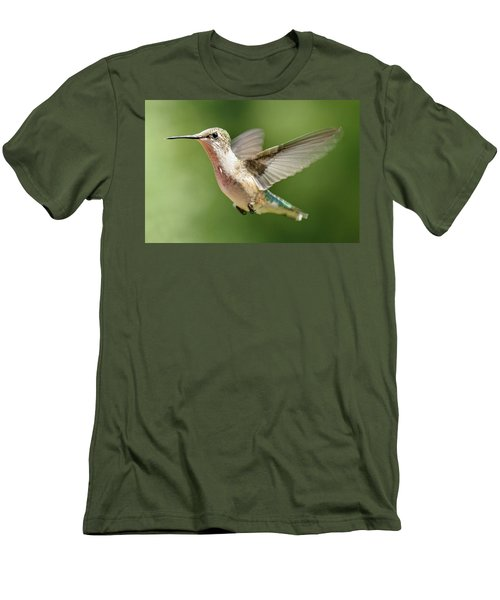 Untitled Hum_bird_two Men's T-Shirt (Athletic Fit)