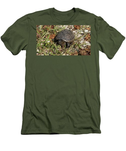 Men's T-Shirt (Slim Fit) featuring the photograph Up Close With Slow by Charles Kraus