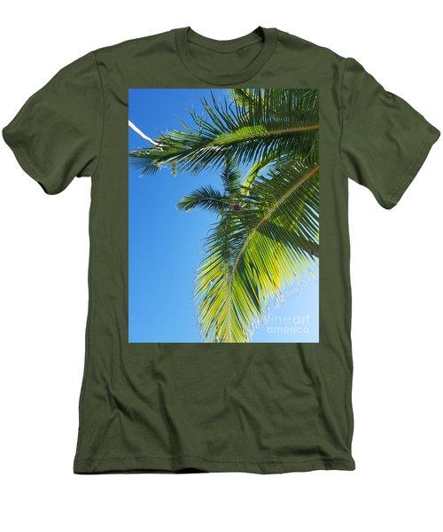 Up-palm Men's T-Shirt (Athletic Fit)