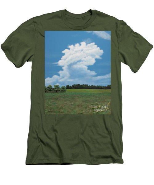 Updraft Men's T-Shirt (Slim Fit) by Billinda Brandli DeVillez