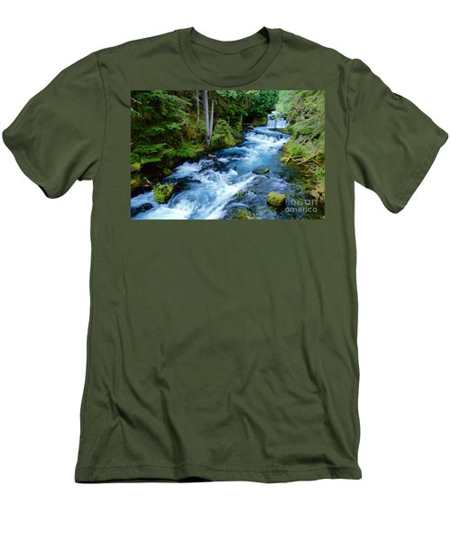 Upper Mckenzie Men's T-Shirt (Athletic Fit)