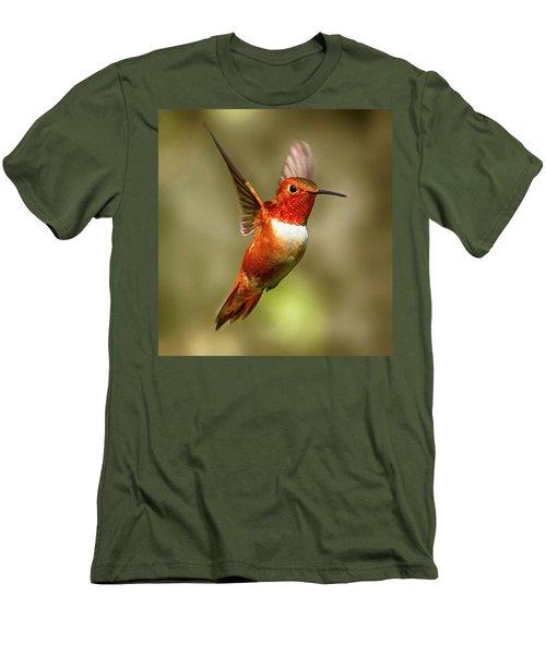Upright Men's T-Shirt (Slim Fit) by Sheldon Bilsker