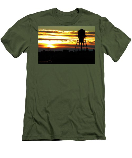 Urban Sunrise Men's T-Shirt (Athletic Fit)