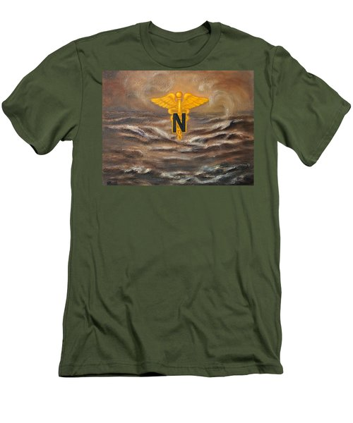 U.s. Army Nurse Corps Desert Storm Men's T-Shirt (Athletic Fit)
